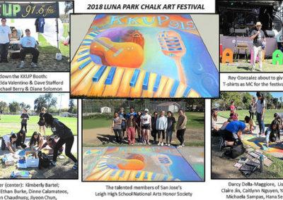 2018 - Chalk Fest Poster - A